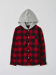 Picture of Hooded flannel check shirt
