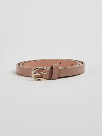 Picture of Embossed faux leather belt
