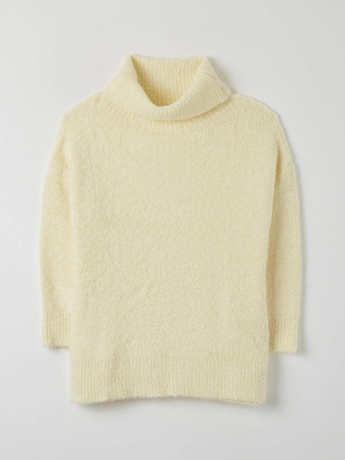Picture of Maxi polo neck in a soft fabric