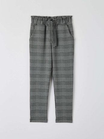 Picture of Patterned paper bag pants