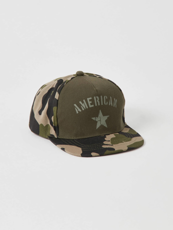 Picture of Patterned cap with visor