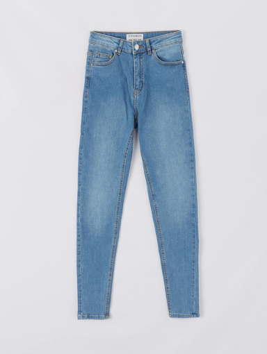 Picture of High-waisted stretch jeans