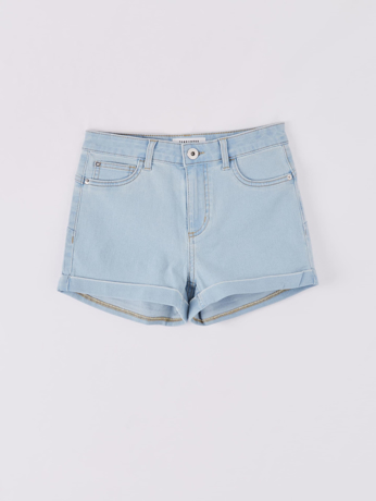 Picture of Pale denim shorts