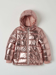 Picture of Laminated bomber-style puffer jacket