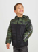 Picture of 100gr quilted jacket with camouflage features and strip lettering