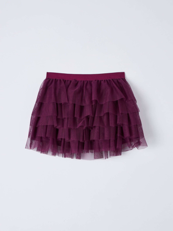 Picture of Tulle ruffle skirt