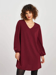 Picture of Flared dress in a block colour