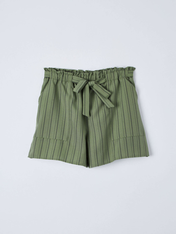Picture of Striped shorts with sash