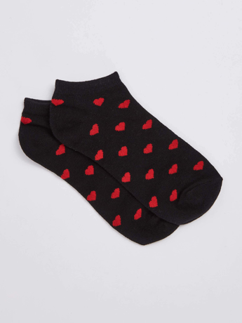 Picture of Sock with hearts